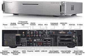Media server refers either to a dedicated computer appliance or to a specialized application software, ranging from an enterprise class machine providing video on demand, to, more commonly, a small personal computer or NAS (Network Attached Storage) for the home, dedicated for storing various digital media (meaning digital videos/movies, audio/music, and picture files).