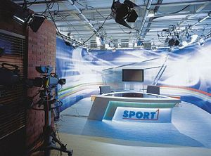 Television studio is an installation in which television or video productions take place, either for live television, for recording live to tape, or for the acquisition of raw footage for postproduction.
